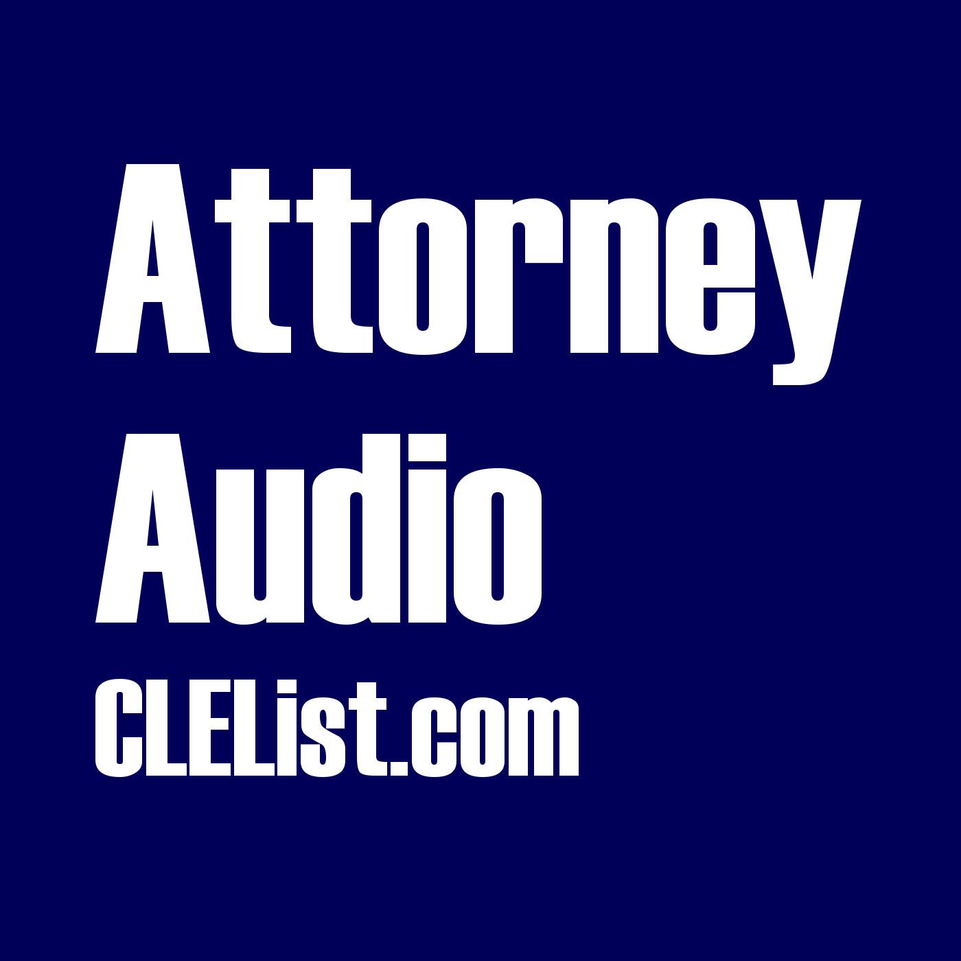 Attorney Audio